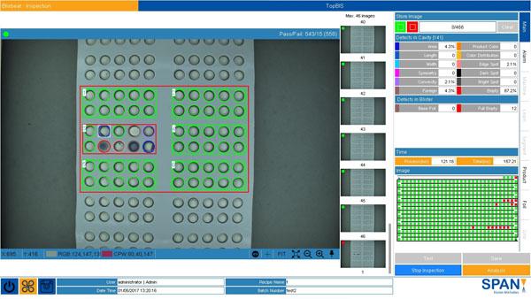 Blisbeat Software (Blister Inspection System)