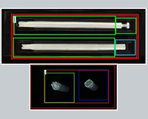 White applicator blisbeat-b capability (blister inspection)