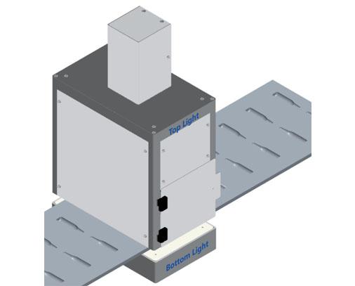 Light Hood design - blisbeat-b capability (blister inspection)