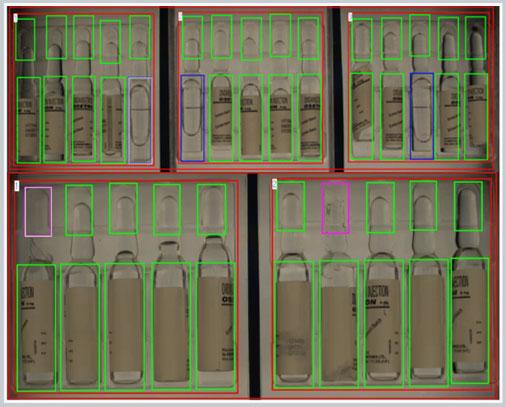 Transparent ampoules - blisbeat-b capability (blister inspection)