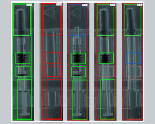 Transparent Injection - blisbeat-b capability (blister inspection)