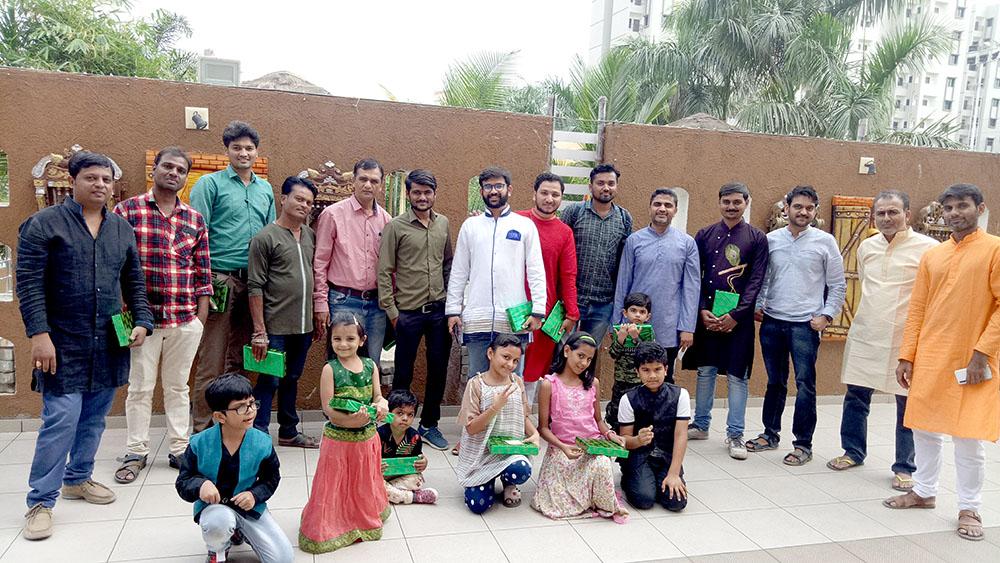 Diwali Celebration with Team and Children