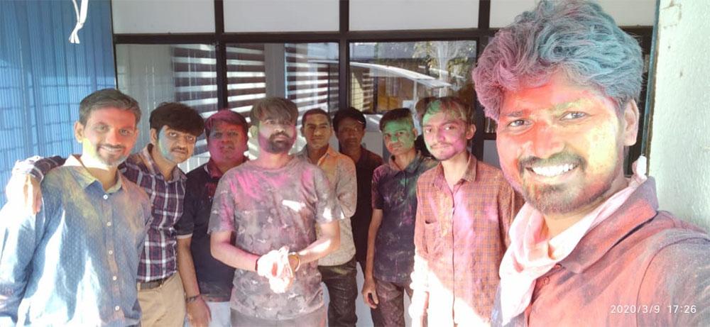 Span System team - Holi Celebration at office