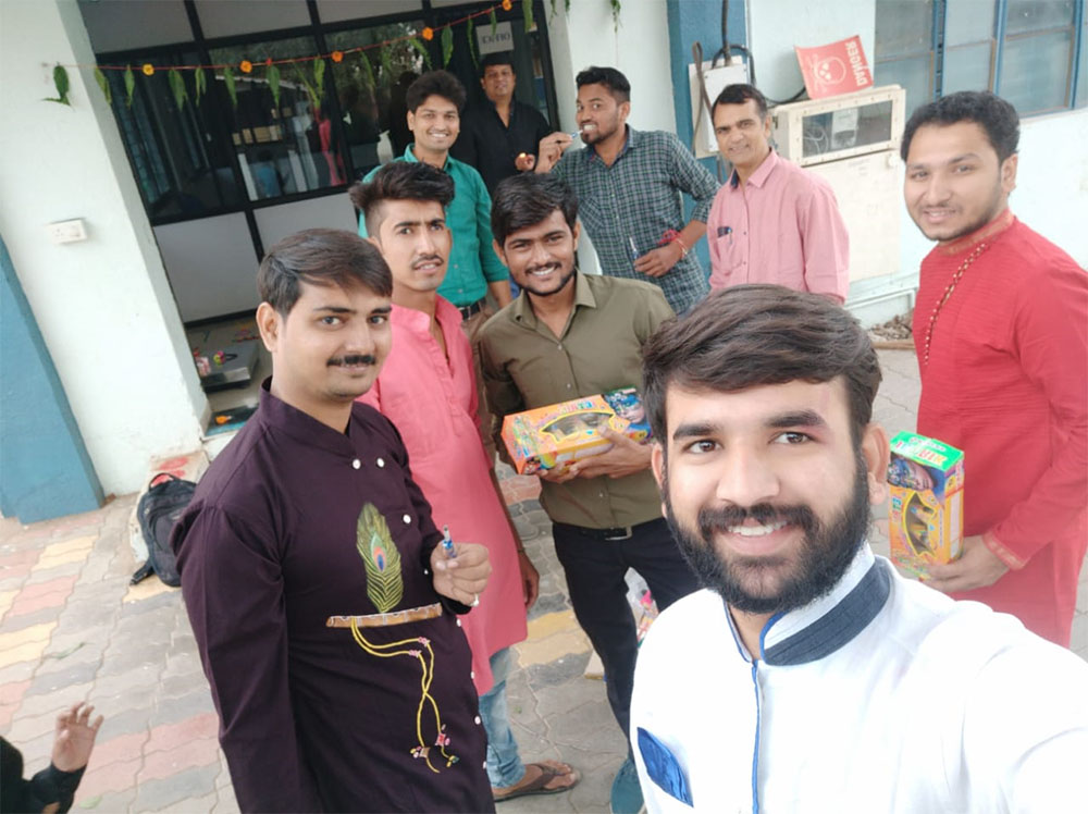 Span System Team in Diwali Mood
